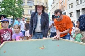 Bolek Polívka na turnaji Jakubák Open